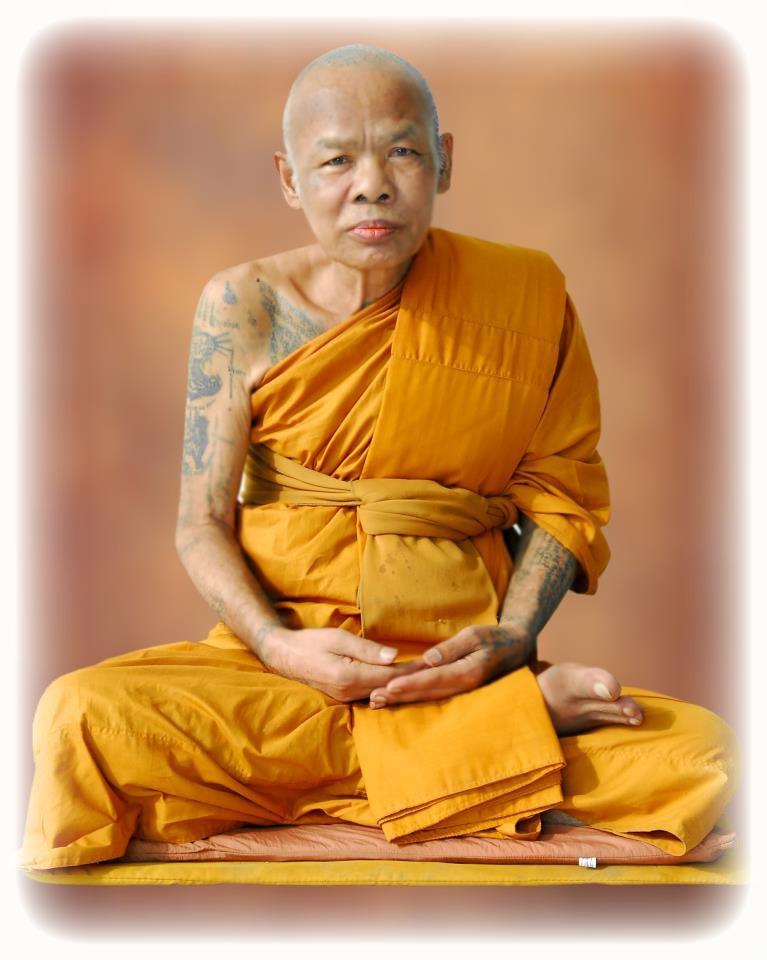 Pra Pid Ta Sariga Thai Amulet