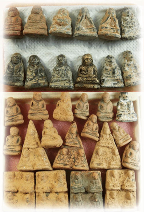Luang Por Ngern amulets of the Wat Khao Pra Dtai Temple find