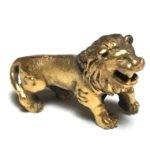 Singto Maha Lap Lucky Lion Amulet Ajarn Bua 2519 BE00011