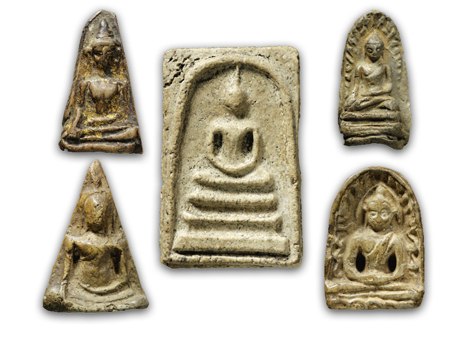 Benjapakee Amulets of the Top Five Regions