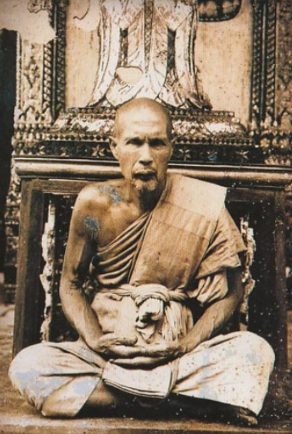 Old Photo of Luang Por Phueak